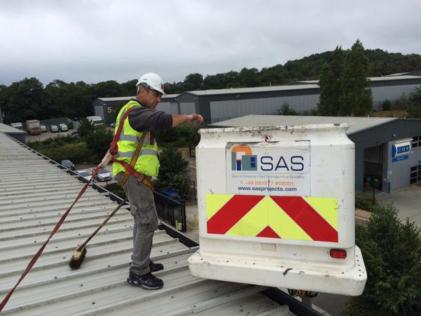 Commercial Amp Industrial Roof Coating Sas Special Projects